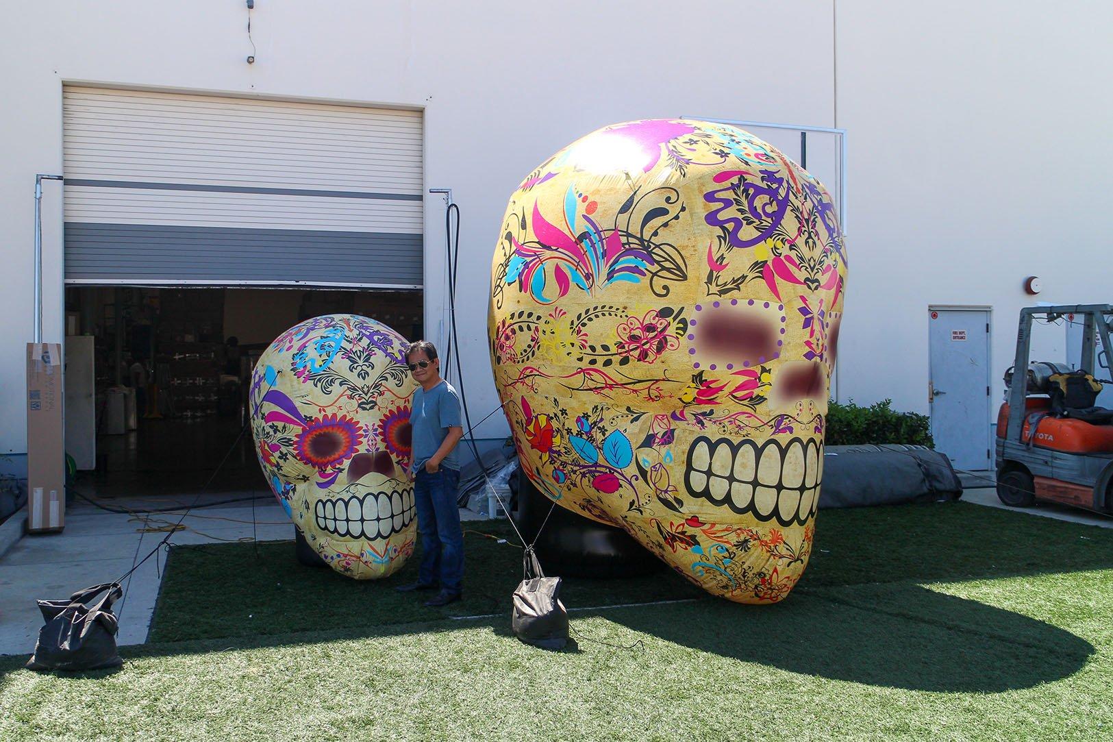 Tan skull