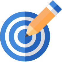 great quality target icon
