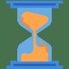 fast turnaround- hourglass icon