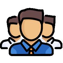 team work support icon