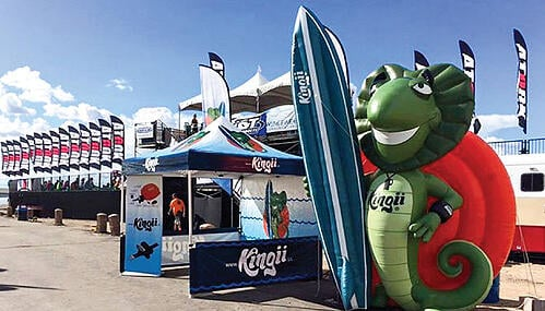 Inflatable Characters - Create a life sized or larger inflatable character.