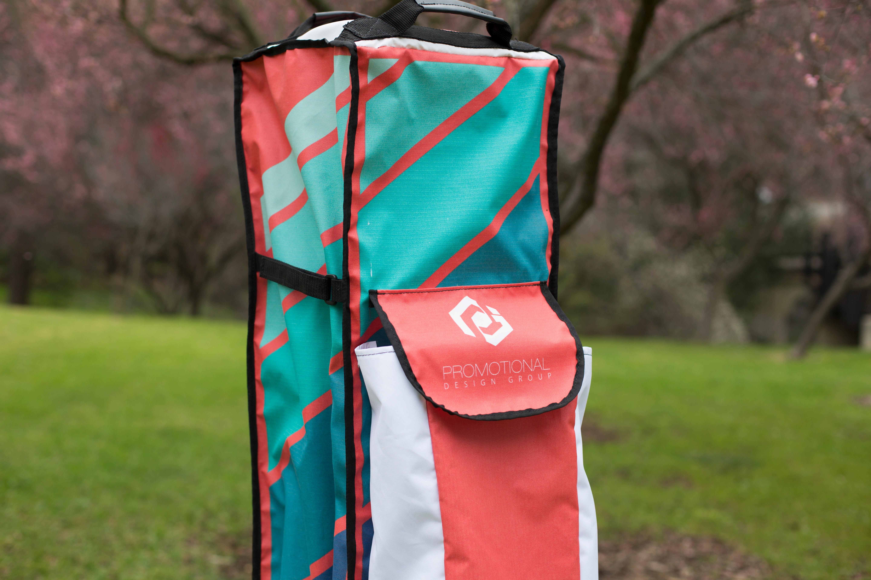 printed promotional design group roller bag