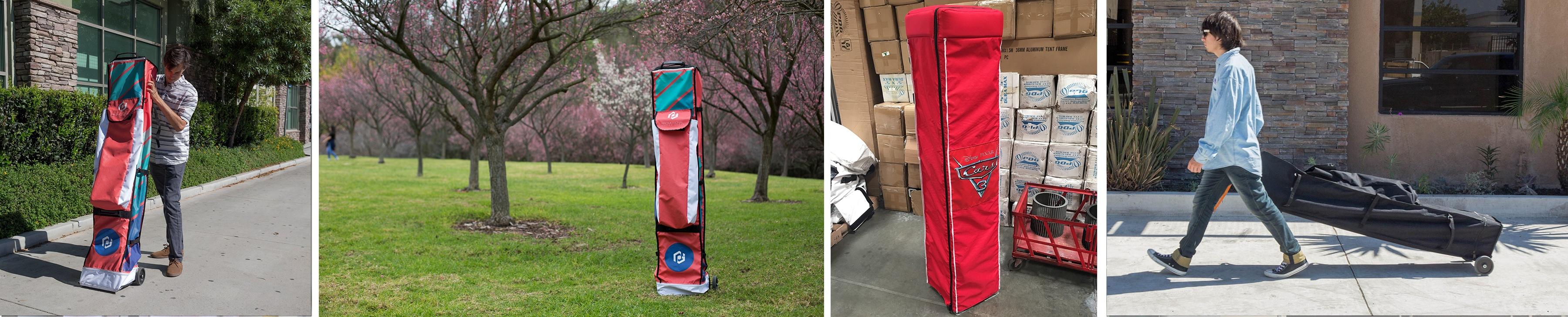 tent frame roller bag