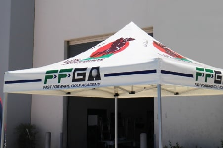 bronze package custom printed pop up canopy tent top
