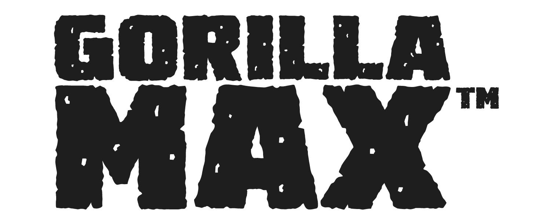 Gorilla max logo frame logo