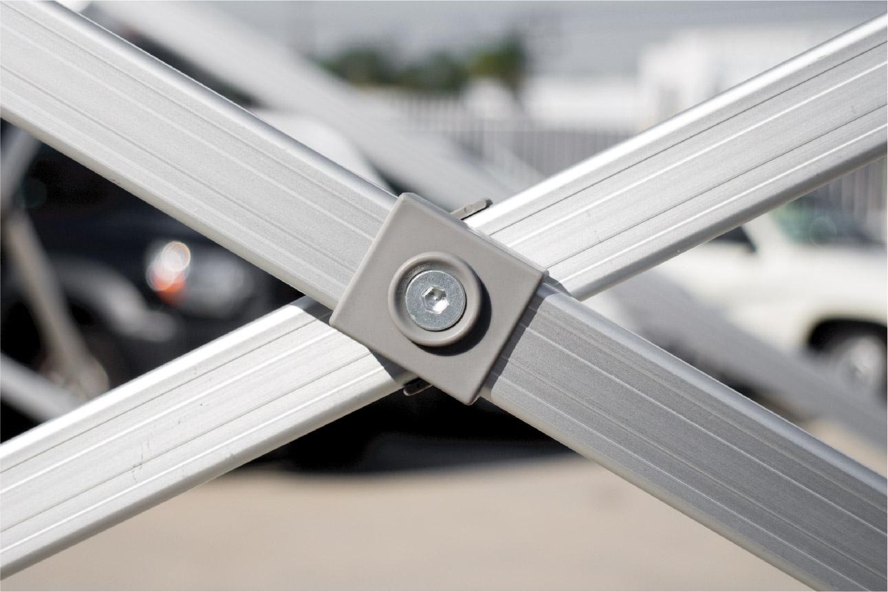 gorilla max frame- truss system close-up