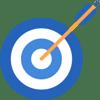 Best Warranties Icon of a bullseye