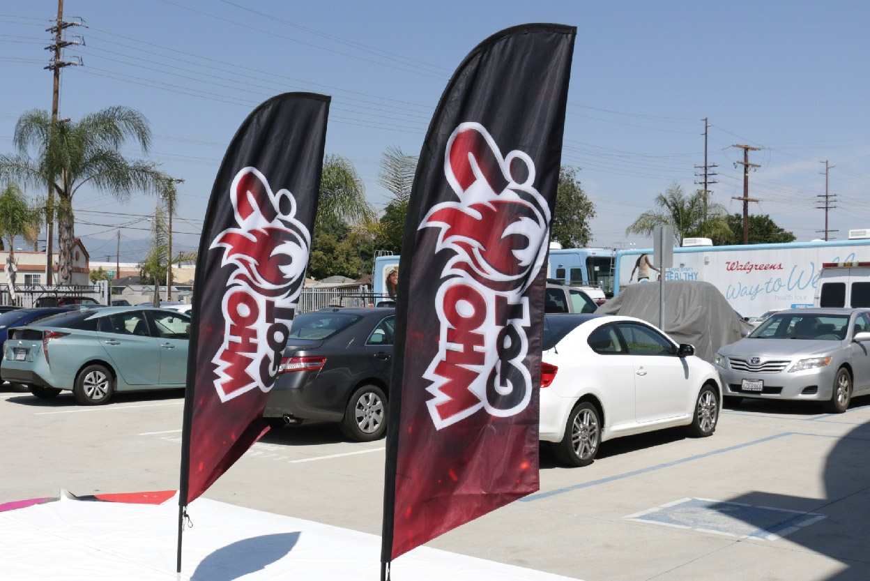 Who Got Customized Advertising Flags