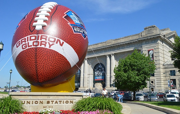 custom Inflatable hall of fame football kansas city