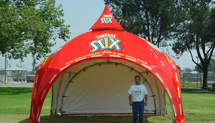 Custom Tents: Dome Tents