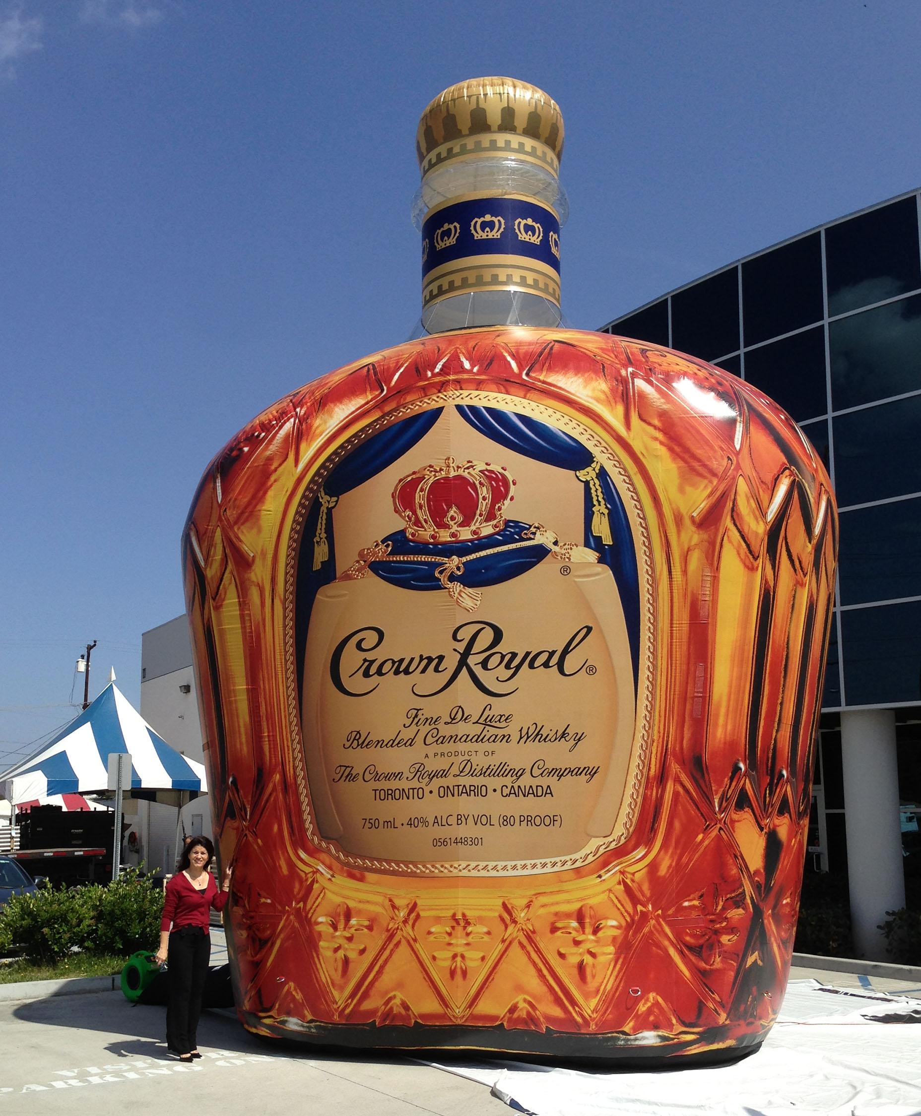 whiskey bottle replica