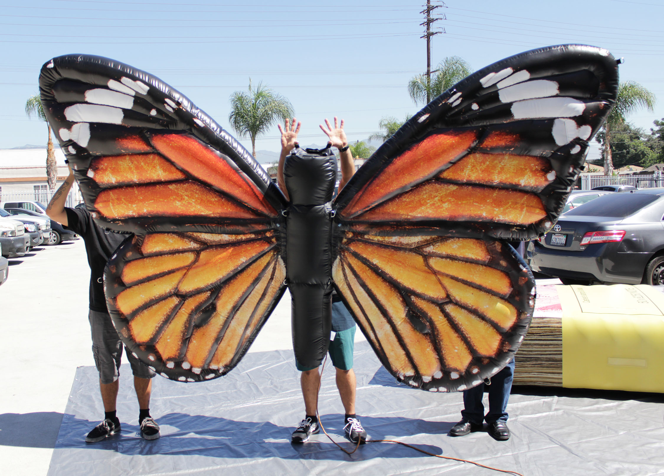 Inflatable Butterfly prop