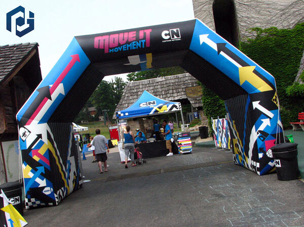 custom inflatable arch