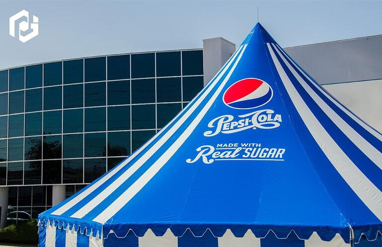 pepsi-tent-next-to-promotional-design-group-building.jpg