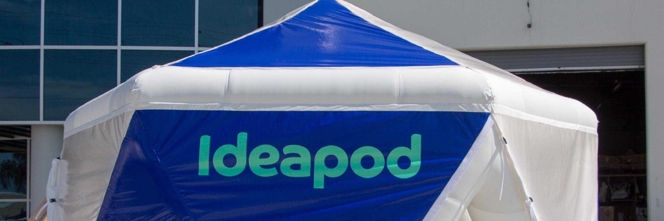 Ideapod-logo-on-an-inflatable-tent.jpg