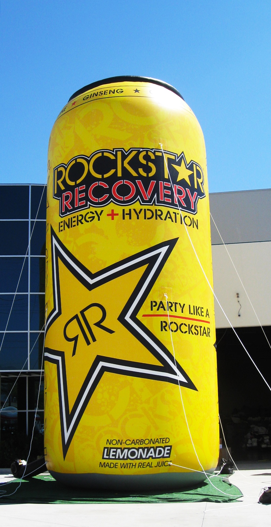 custom inflatable can replica Rockstar