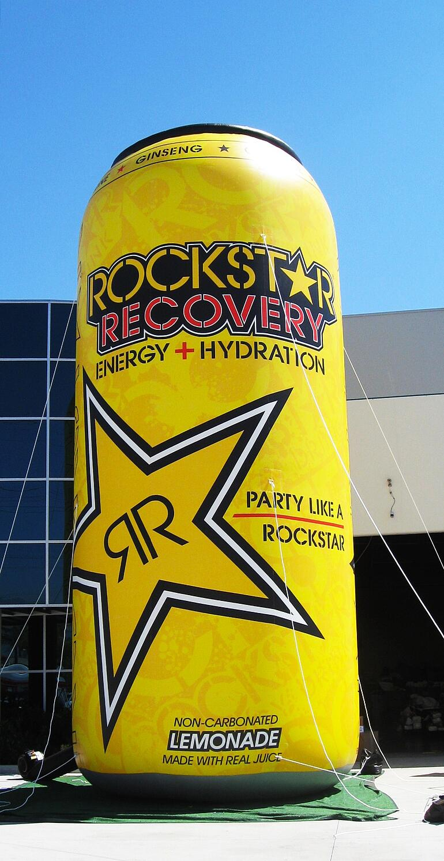 custom inflatable can replica Rockstar