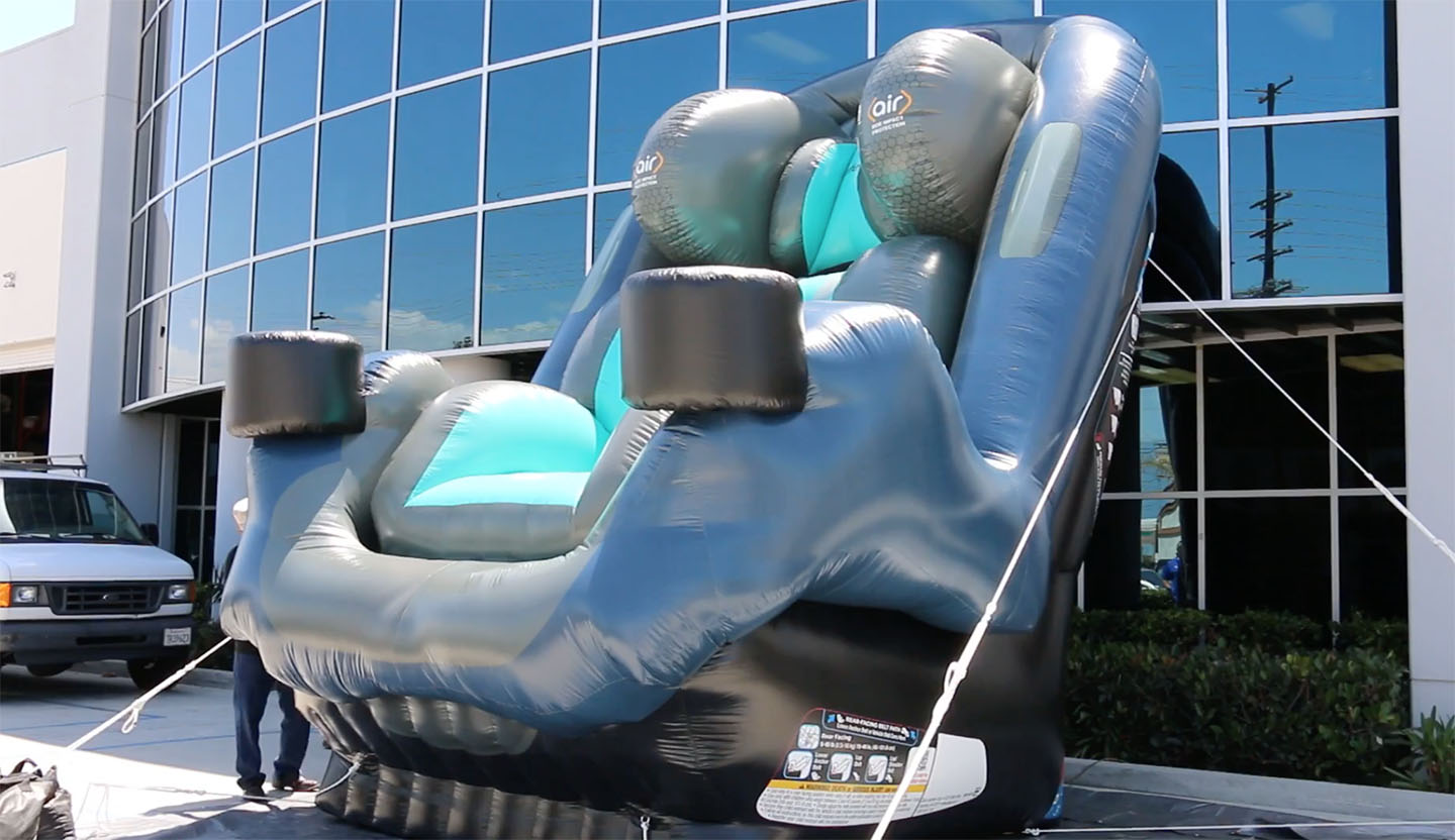 car seat inflatable
