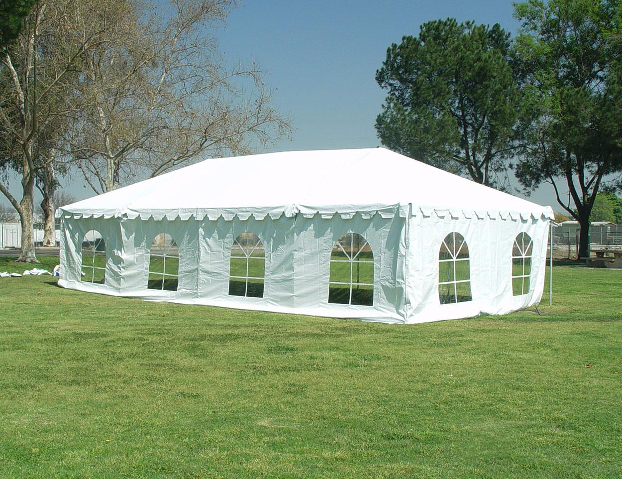20x40-event-canopy-windows & 20x40 White Frame Tent