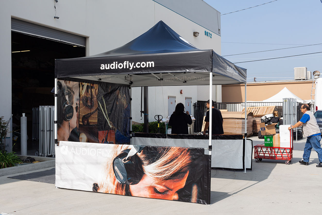 audiofly-tent