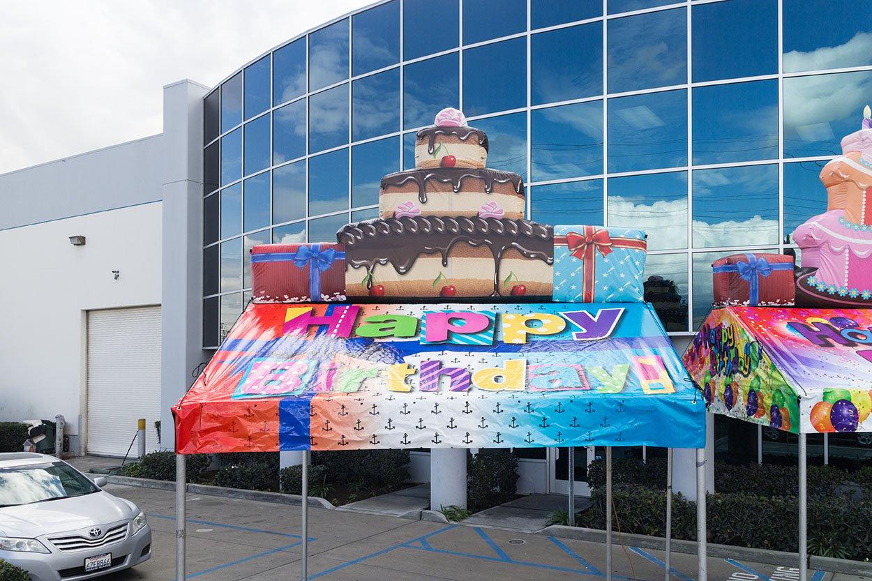 10x10 Cake Tentflatable-7963