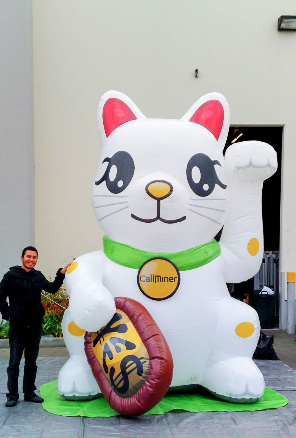 callminer-cat-inflatable