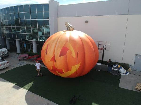 halloween inflatables jack o lantern