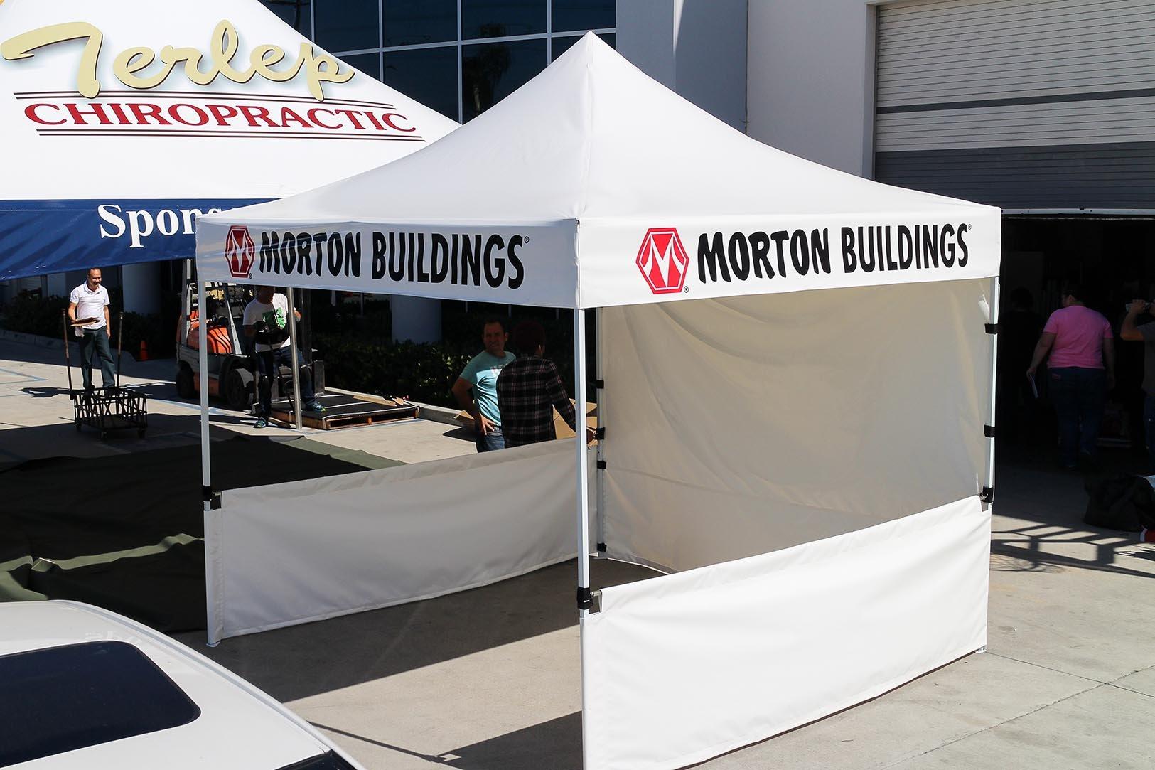 Morton Buildings | Custom Canopies - 10x10 Pop Up Tent