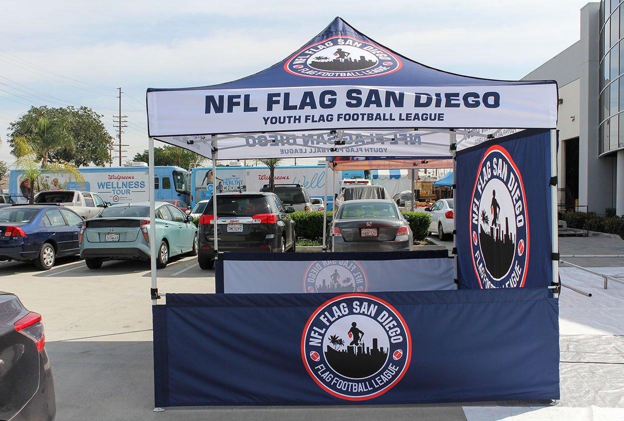 nfl-flag-tent
