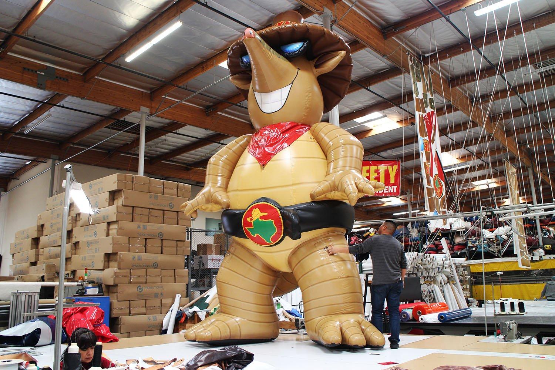 texas-roadhouse-armadillo-animal-replica