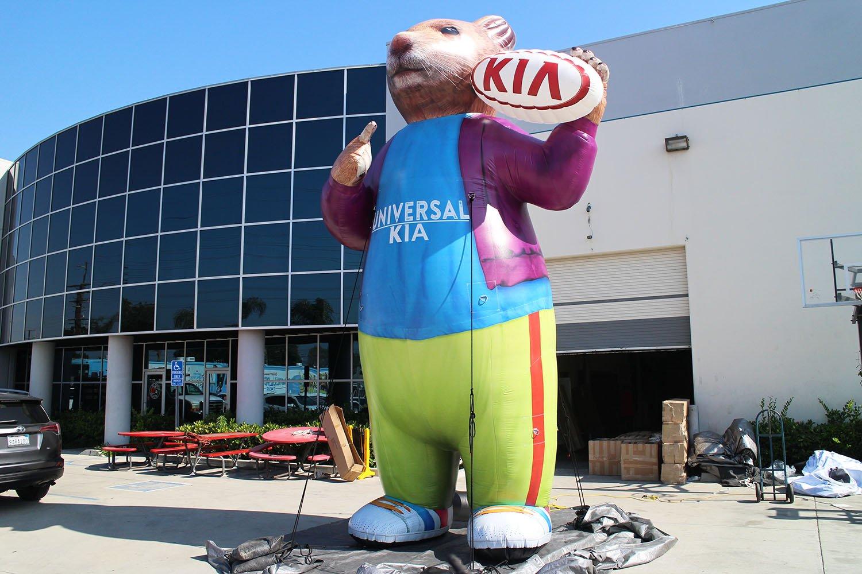 kia-hamster-inflatable