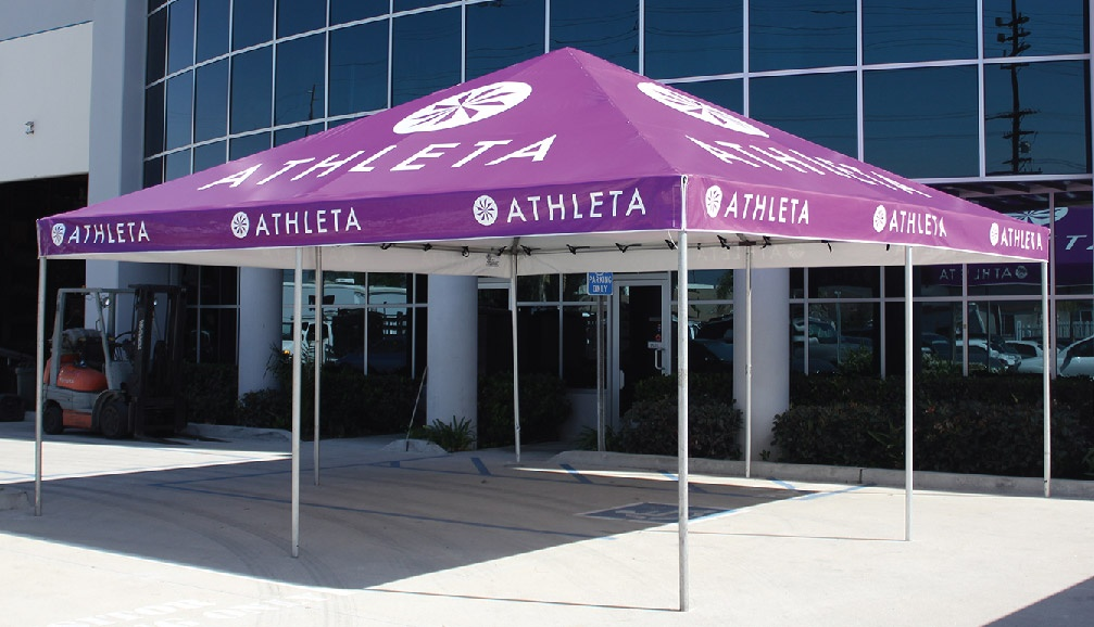 Athleta Purple Standard Frame Tent