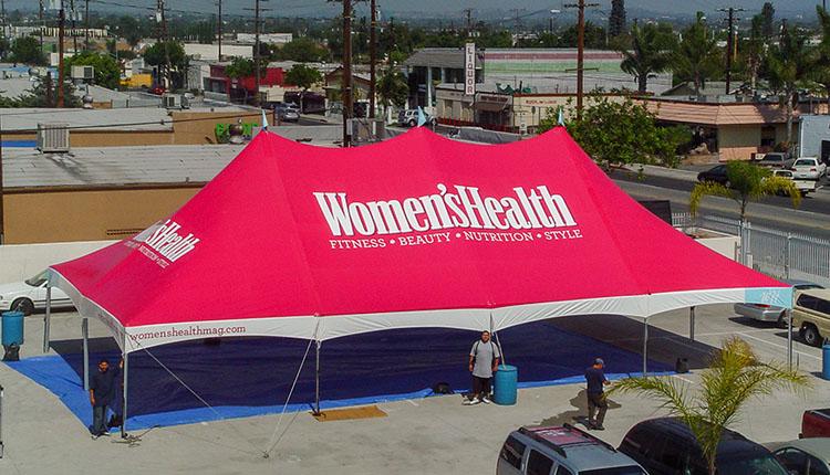 Custom Tents: High Peak Tents